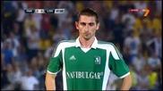 Гола на Златински!!! Партизан - Лудогорец 0:1 (6.8.2013)