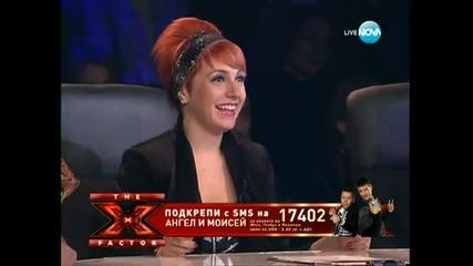 N E W ! Ангел и Моисей - Черно море .. X-factor България .. 2o11