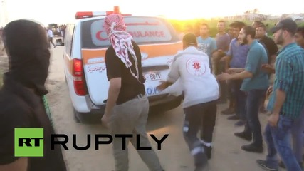 State of Palestine: Fierce violence at border crossing sees scores injured