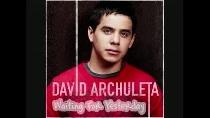 David Archuleta - Waiting For Yesterday