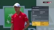 Нишикори е на четвъртфинал след успех над Йънг