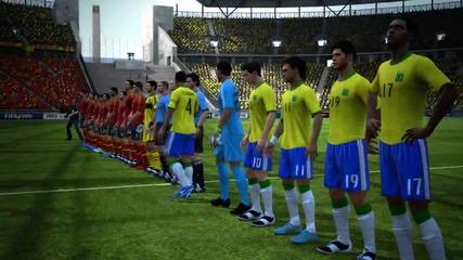 Няколко гола на Fifa 13