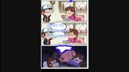 Гравити фолс комикс целувка