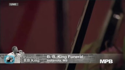 B.B. King's Memorial Service Was Live-Streamed