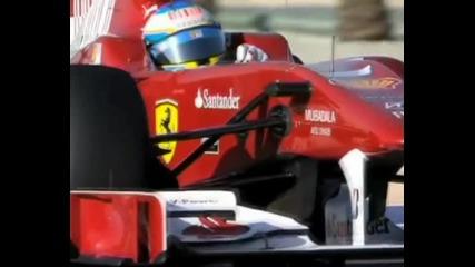 F1 Ferrari& Mercedes 4 Bahrain 2010