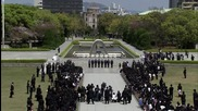 Japan: Kerry pays respects at Hiroshima memorial during historic visit