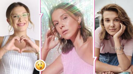 Мили Боби Браун в нова филмова мистерия, актрисата със странна мания по време на снимки