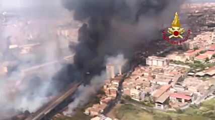 Italy: Fires hit Catania, Palermo on the island of Sicily