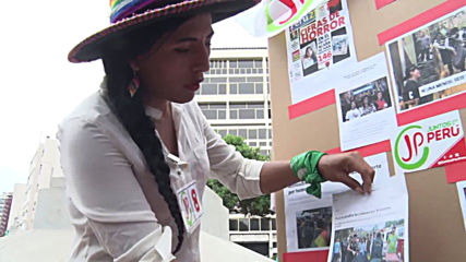 Peru: Indigenous activist seeks to be first transwoman in Congress