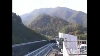 Най-бързият влак в света!