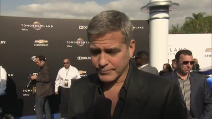 'Tomorrowland' Premiere: George Clooney