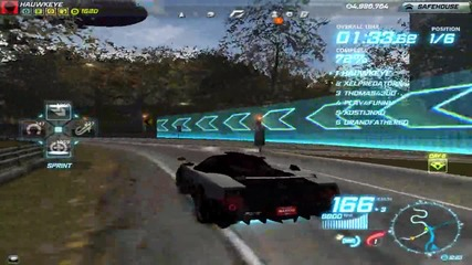 Pagani Zonda Cinque - Heritage & Diamond ( Need For Speed: World )