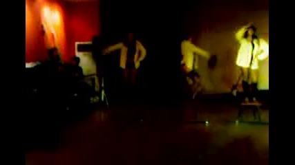 Немската - Мажоретки - коледен бал - 16.12.2010