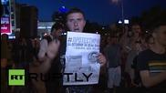 Македония: Антиправителствените протести са отново на улиците в Скопие