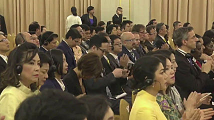 Thailand: Pope Francis addresses officials in Bangkok's Government House