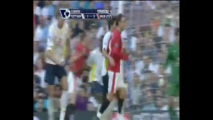 Tottenham Hotspur 1:3 Manchester United 12 9 2009