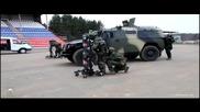 Российский спецназ в действие