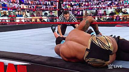 Ricochet vs. AJ Styles: Raw, Jan. 18, 2021