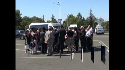 Възпоменателна церемония в памет на загиналите при атентата на 18 юли бе отслужена на летище Сарафово