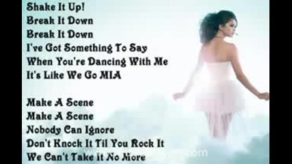 Selena Gomez & the Scene - Shake It Up (lyrics On Screen)