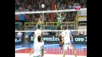 Volleyball mistake