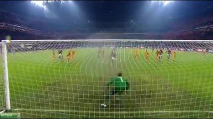 Кларънс Зеедорф с победа при дебюта си като треньор - Милан - Верона 1-0 (19.01.2014)