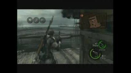 Resident Evil 5 Walkthrough Part 17 - Beating the crocs