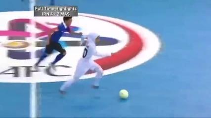 Това е националния отбор по футзал на Иран за жени