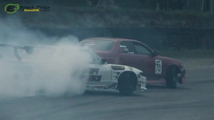 (hd) Drift Battle Nissan Ps13 vs Toyota Cresta