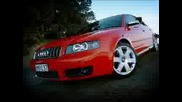 Audi S4 V8 Quattro - Реклама