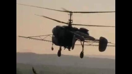Kamov Ka 26 Ha - Mcb helicopter spray
