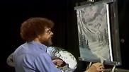 S01 Радостта на живописта с Bob Ross E04 - зимна мъглявина ღобучение в рисуване, живописღ