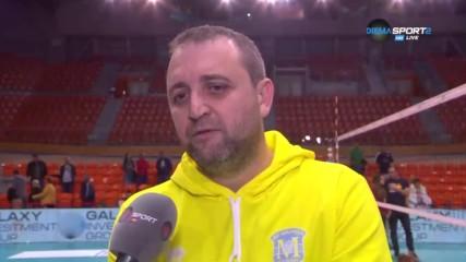 Иван Петков: Важно бе да облечем превъзходството си в резултат