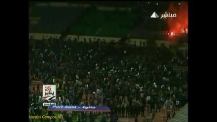 футболното меле в Египет!
