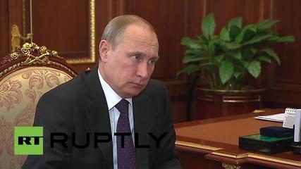 Russia: Putin meets Governor of Chukotka