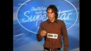 Кой ви каза че само България се излагат на Musik Idol