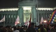 Peru: Protesters rally against court ruling on forced pay cuts