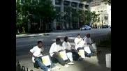 Team Of Amazing Street Drummers
