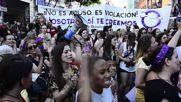 Spain: Thousands protest against 'Wolf Pack rapists' release in Madrid