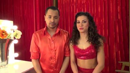 Dancing Stars - Вензи и Ралица след участието им - 18.03.2014 г.