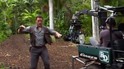 Chris Pratt's Special Stunt Techniques For Jurassic World