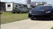 Полицейско Lamborghini Huracan в Маями