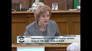 Парламентът разреши заем до 140 милиона лева за оздравяване на БДЖ