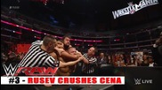 Top 10 Wwe Raw moments - March 23, 2015