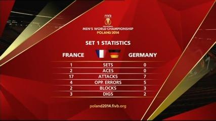 Франция разпердушини Германия