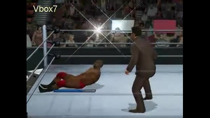 Wwe Smackdown vs Raw 2011 Сезон 1 Ezikel Jakson vs Chtis Jericho Raw