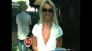 заснемането на на Britney Spears - radar and Candis