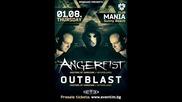 Angerfist & Outblast - Bulgaria, Sunny beach - 01.08.2013