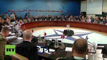 Belgium: NATO chiefs discuss military cooperation with Ukrainian attache
