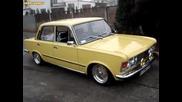 Полски Fiat 125p в стил Lowrider